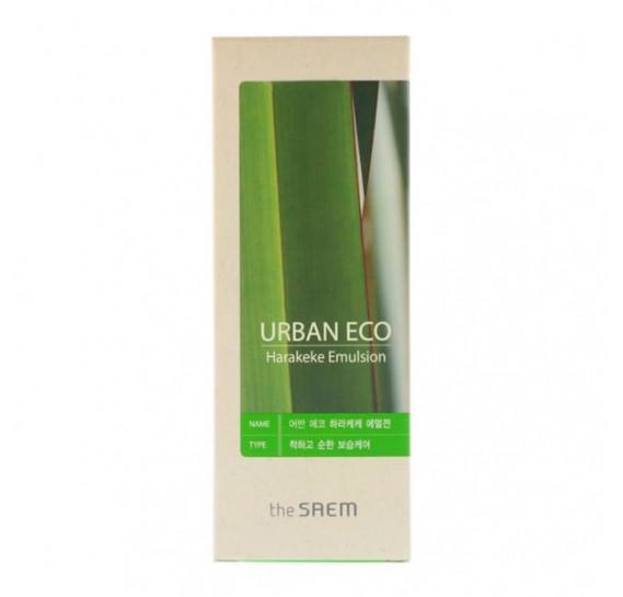Увлажняющая эмульсия с экстрактом новозеландского льна The Saem Urban Eco Harakeke Emulsion THE SAEM 140 мл