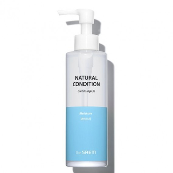 Увлажняющее гидрофильное масло для сухой кожи The Saem Natural Condition Cleansing Oil Moisture THE SAEM 180 мл