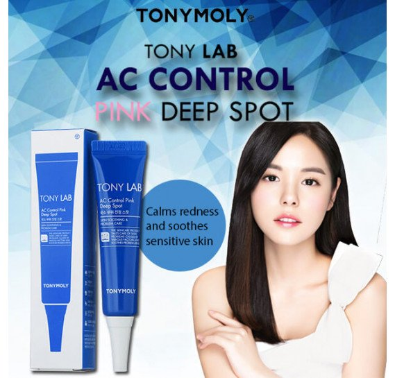 Точечная сыворотка для лечения проблемной кожи лица с акне Tony Moly Tony Lab AC Control Pink Deep Spot TONY MOLY 25 шт