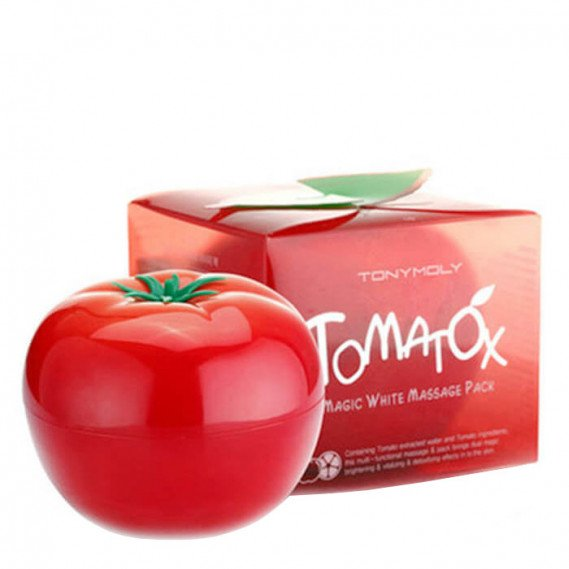 Осветляющая и выравнивающая тон лица Томатная маска Tony Moly Tomatox Magic Massage Pack TONY MOLY 80 мл