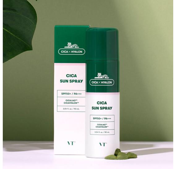 Солнцезащитный спрей для чувствительной кожи VT Cosmetics Cica Sun Spray SPF 50+/PA+++ VT COSMETICS 150 мл