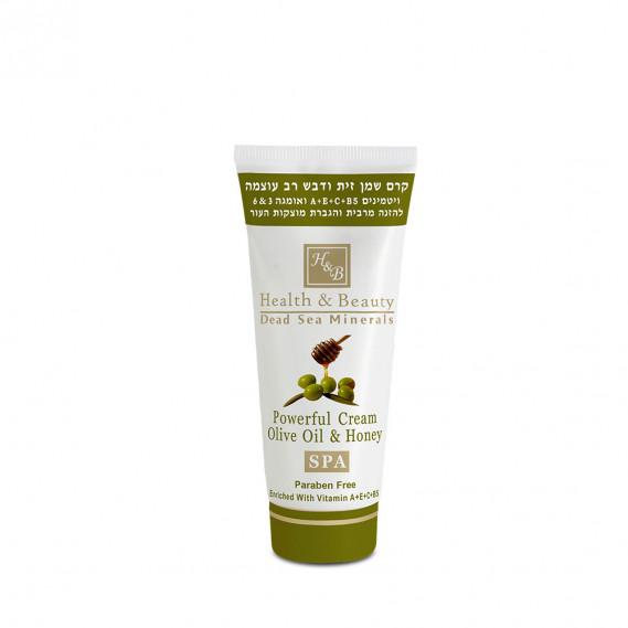 Интенсивный крем на основе оливкового масла и меда (100 мл) Health & Beauty