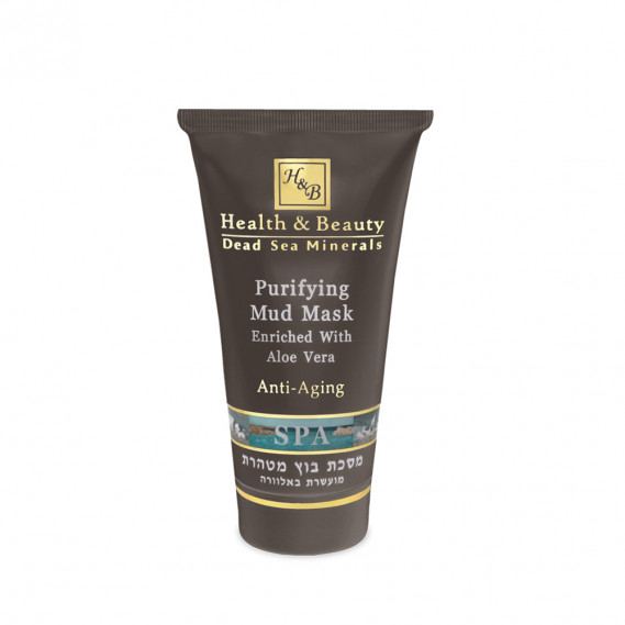 Очищающая грязевая маска с Алоэ Вера 150мл Health & Beauty 150 мл