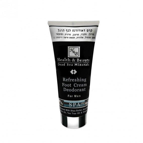 Освежающий крем-дезодорант для ног для мужчин Health & Beauty 200 мл