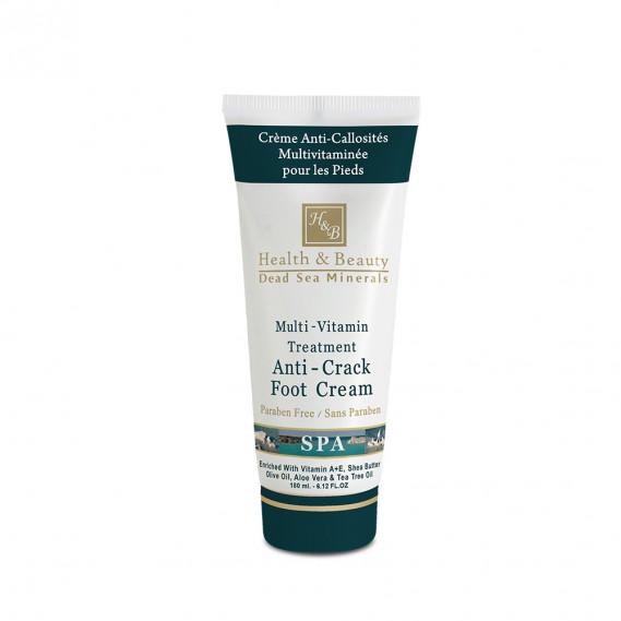 Мультивитаминный крем для грубой и потрескавшейся кожи ступней (180 мл) Health & Beauty