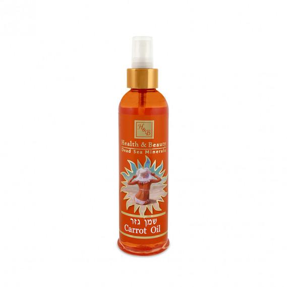 Морковное масло для загара Health & Beauty 250 мл