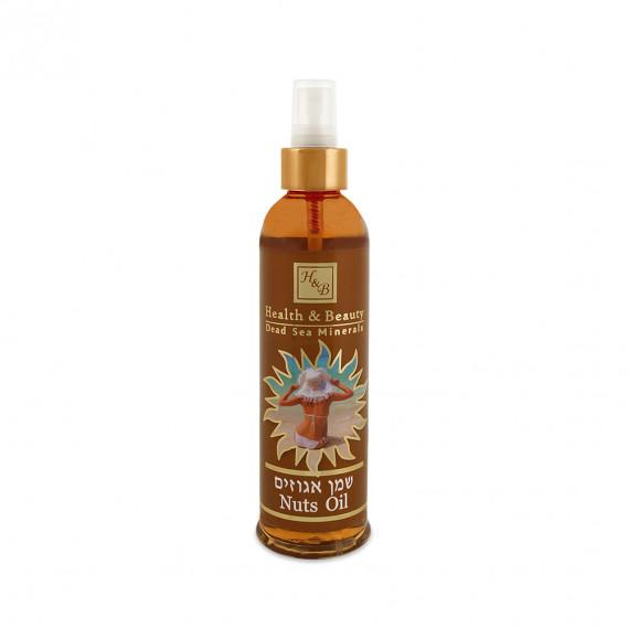 Ореховое масло для быстрого и ровного загара Health & Beauty 250 мл