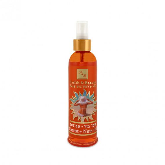 Морковно-ореховое масло для загара Health & Beauty 250 мл