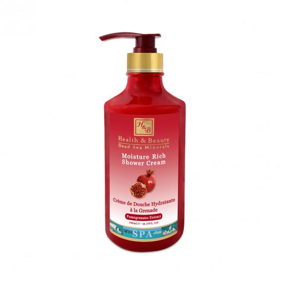Увлажняющее бесщёлочное мыло для тела с гранатом Health & Beauty 780 мл