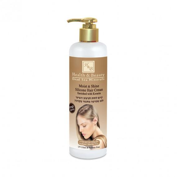 Увлажняющий крем для волос Health & Beauty 350 мл