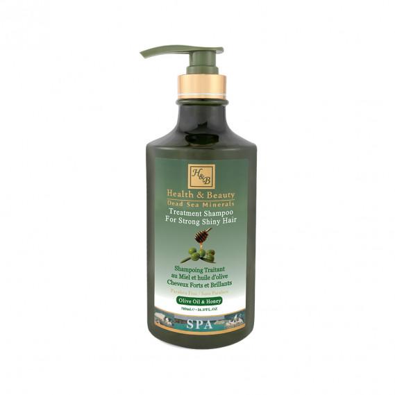 Шампунь для волос с добавлением оливкового масла и меда (780мл) Health & Beauty 780 мл