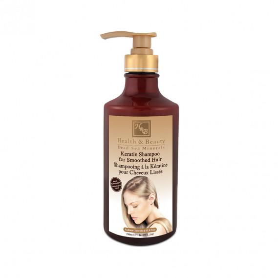Шампунь с кератином для волос после термического воздействия (780мл) Health & Beauty 780 мл
