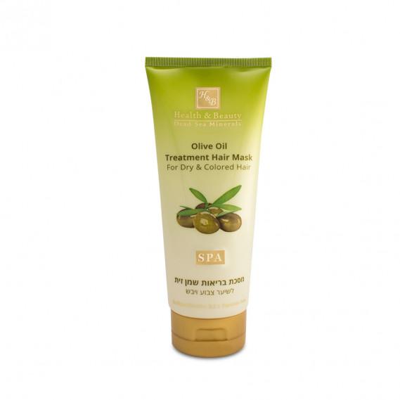 Питательная маска для сухих и повреждённых волос с Оливковым маслом Health & Beauty 200 мл