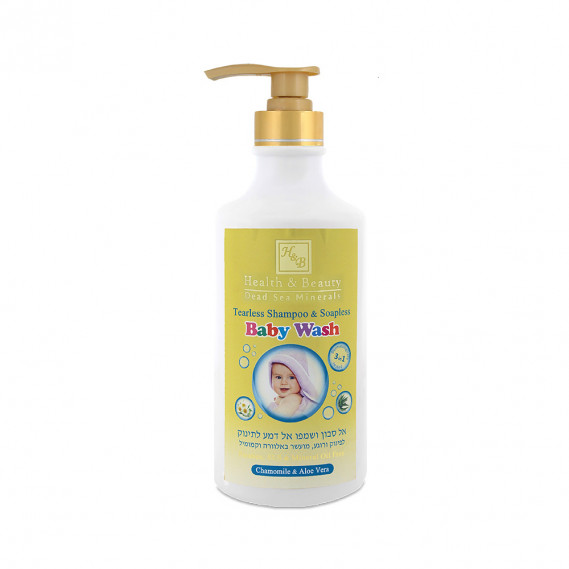 Шампунь без слёз и гель для душа для малышей Health & Beauty 780 мл