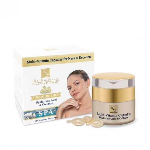 Мультивитаминные капсулы для Шеи и зоны Декольте (30 капс) Health & Beauty 70 мл