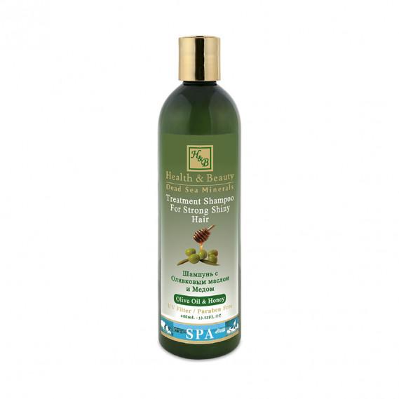 Шампунь для волос с добавлением оливкового масла и меда (400мл) Health & Beauty 400 мл