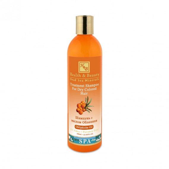 Шампунь для сухих окрашенных волос с маслом облепихи (400мл) Health & Beauty 400 мл