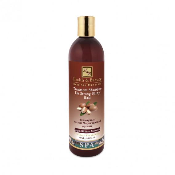 Шампунь для здоровья и блеска волос с маслом Араган (400мл) Health & Beauty 400 мл